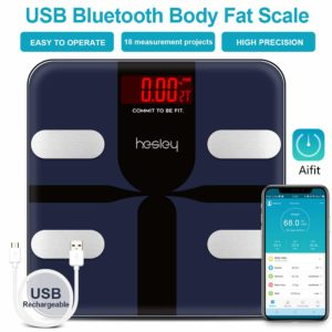 hesley smart bluetooth body fat scale