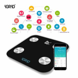 iGRiD bluetooth smart weighing scale