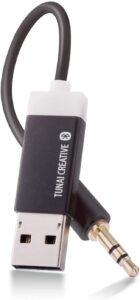 tunai firefly bluetooth receiver: world's smallest usb wireless audio bluetooth 4.2 adapter