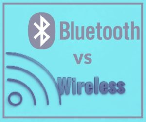 difference between bluetooth and wireless